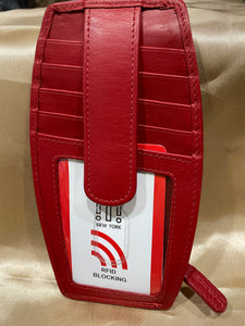 Day Bags and Wallets, credit cards, ID. and change keepers with RFID Protection. Technology that prevents crooks from zapping important info on your cards.
