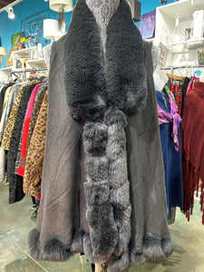 Fall Winter Wear,  Luxurious Faux Fur Vest.