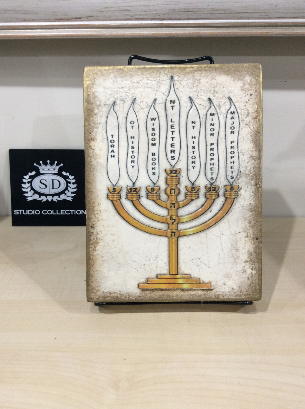 Sid Dickens Memory Block, T-331 MENORAH , Holiday 2014, Limited Edition,Retired