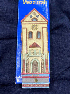 Mezuzah Collection, Famous Synagogues Of Europe. Judaica