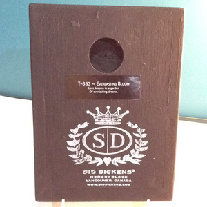 Sid Dickens Memory Block, Retired