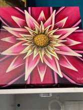Load image into Gallery viewer, Flower Power Canvass Art