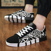 Men's Fashion Graffiti Canvas Shoes