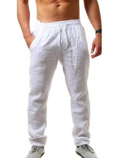 Men's hip-hop breathable cotton recreational sports trousers