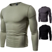 Round neck bottoming long sleeves