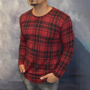 Men's Modern Casual Plaid Long Sleeve Shirt