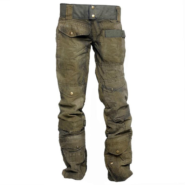 Mens Outdoor Wear-resistant Military Trousers