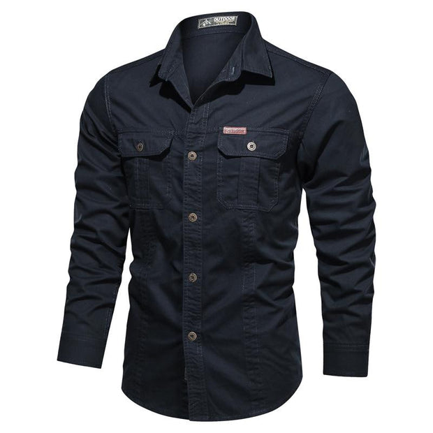 Pure cotton washed casual shirt
