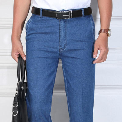 2020 Summer thin-styled cotton male jeans