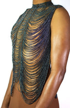 Load image into Gallery viewer, Glass Maasai Bead Cape