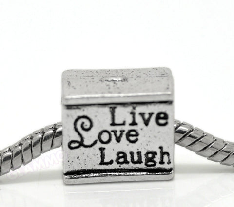 Live Love Laugh European Bead #lf3707