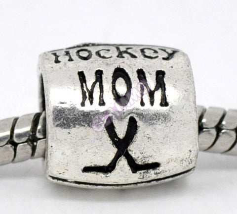 Hockey Mom European Bead #fa3200