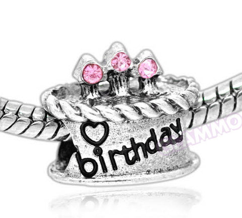 Birthday Cake European Bead #lf3723