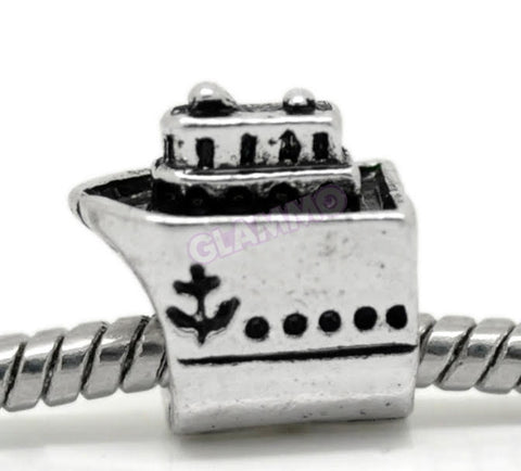 Cruise Ship II European Bead #tr3307