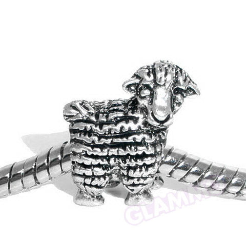 Sheep European Bead #eb1360