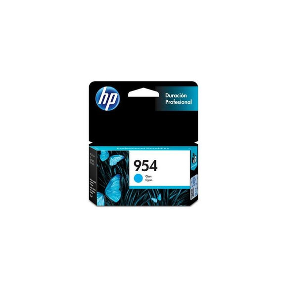Cartucho HP Cian 954 (L0S50AL) Estandar