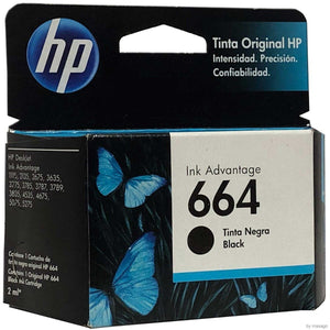 Cartucho HP Negro 664 (F6V29AL) Estandar