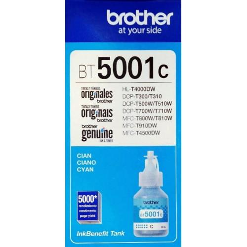 Tinta Brother Cian 5001 (BT5001C) Estandar