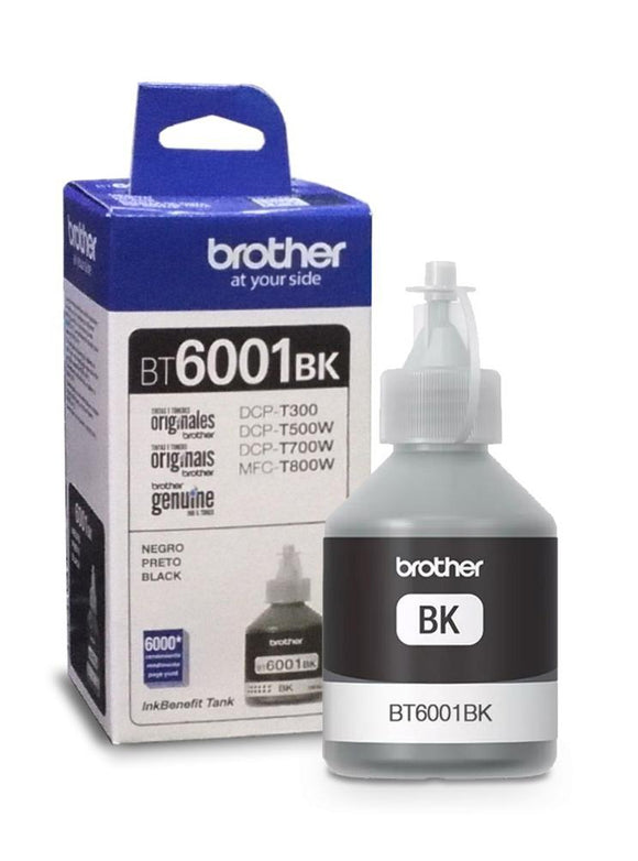 Tinta Brother Negro 6001 (BT6001BK) Estandar