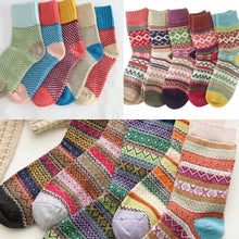 Load image into Gallery viewer, Bright Wool Socks (Unpackaged) -Random colour will be delivered