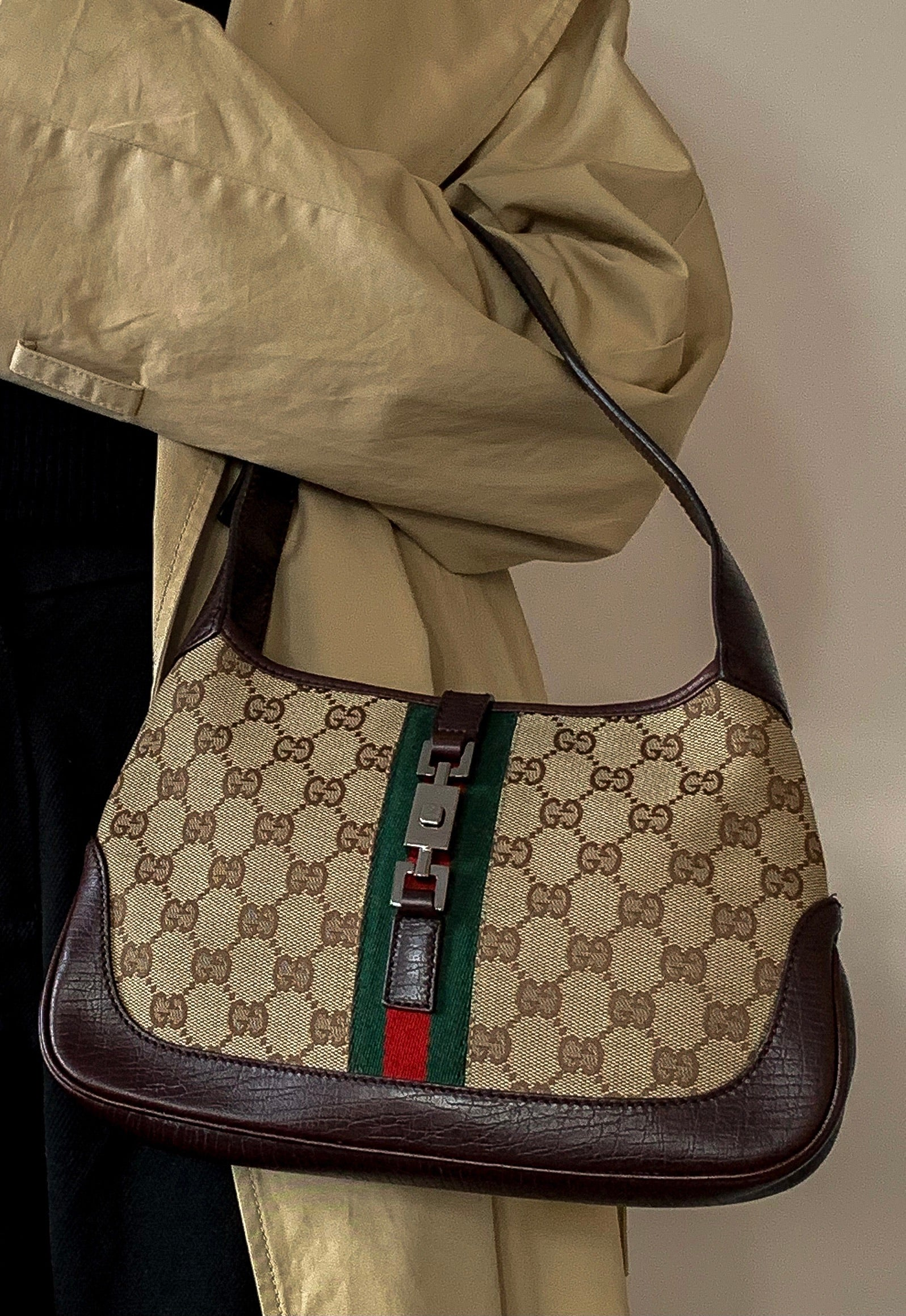 Gucci Jackie Monogram Bag