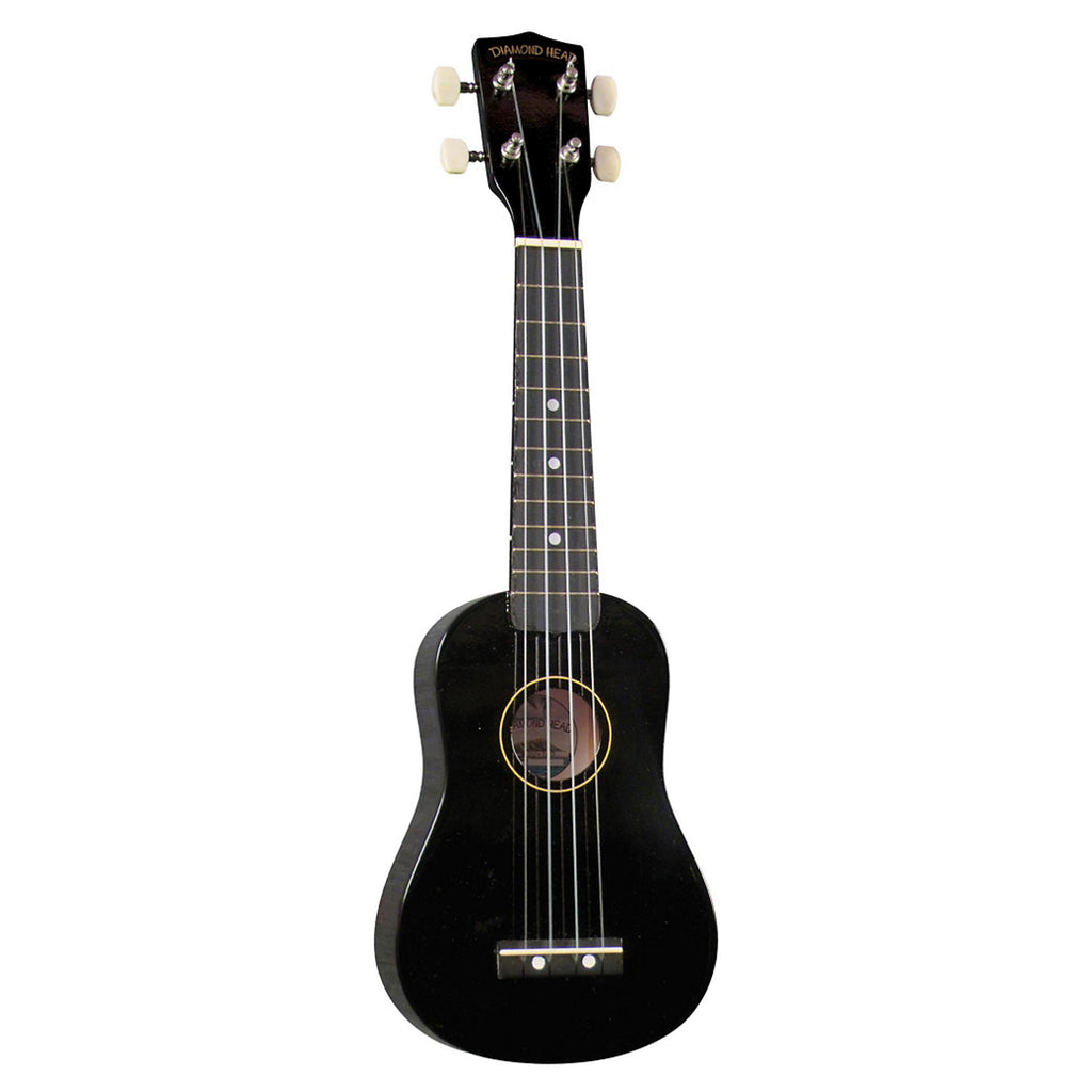 Diamond Head Soprano Black