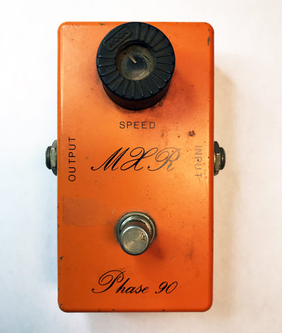 MXR Phase 90 Script Logo Early 1970s