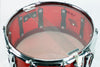 "Ludwig ""Red Ripple"" Vistalite 6.5"" x 14"" Prototype Snare - Bun E. Carlos-owned"