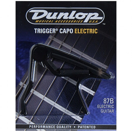 Dunlop Trigger Capo Electric-Black- 87B