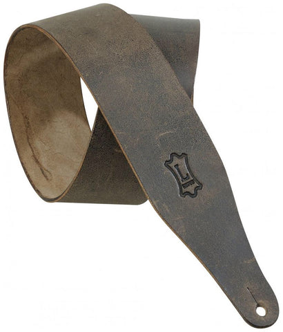 Levy Distressed Leather Guitar Strap