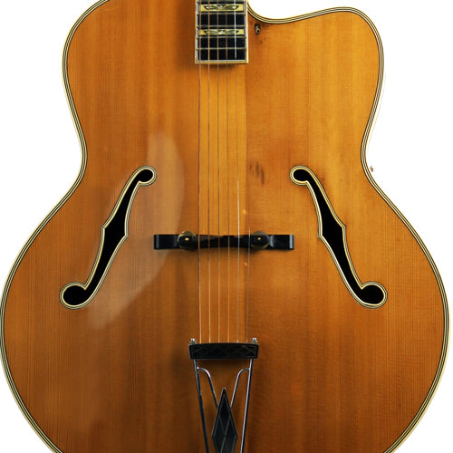 Levin Model 1 Deluxe Archtop - Natural 1957