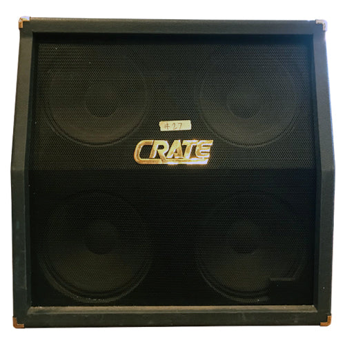 Crate BV412 4x12 Speaker Cabinet - Marty Friedman-Owned
