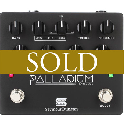 Seymour Duncan Palladium Gain Stage Distortion Pedal