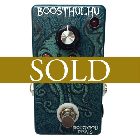 Rougarou Pedals Boosthulhu Clean Boost