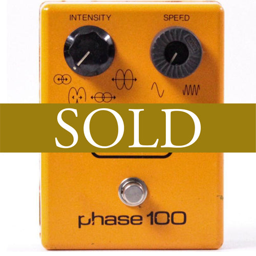 MXR Phase 100 Block Logo 1978