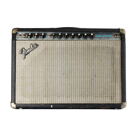 Fender Deluxe Reverb Silverface 1970s Marshall Mod by Pinnell Amplifiers