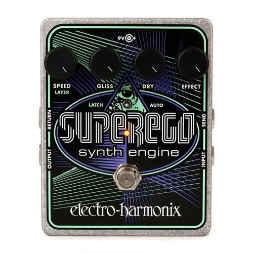 Electro-Harmonix Super Ego Polyphonic Synth Engine Pedal
