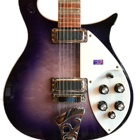 Rickenbacker 620/12 Purpleglo 1995 -  Prototype -  Mark Hudson/Joe Perry
