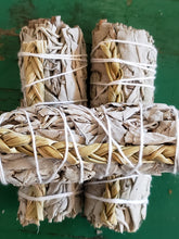White Sage with Braided Sweet Grass