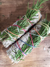 Rosemary and white sage stick smudge stick