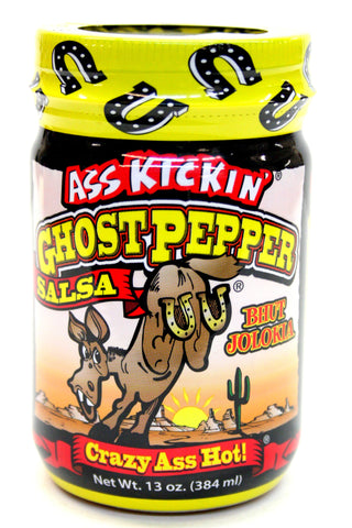 Southwest Ass Kickin' Ghostpepper Crazy Ass Hot Salsa