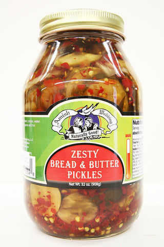 Amish Wedding Zesty Bread & Butter Pickles