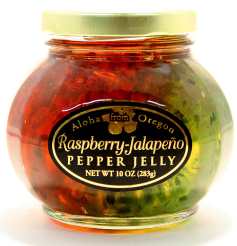 Aloha Raspberry Jalapeno Pepper Jelly - Net Wt. 10 oz.