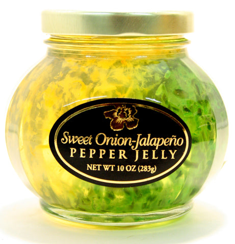 Aloha Sweet Onion-Jalapeno Pepper Jelly - Net Wt. 10 oz.