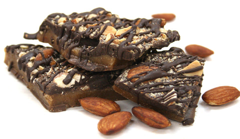 Almond Butter Toffee Bark - Net Wt. 1 lb.
