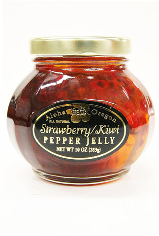 Aloha Strawberry Kiwi Pepper Jelly