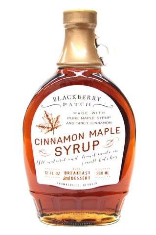 Blackberry Patch Cinnamon Maple Syrup