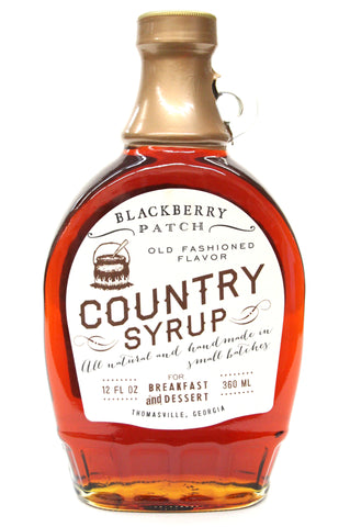 Blackberry Patch Old Fashioned Country Syrup