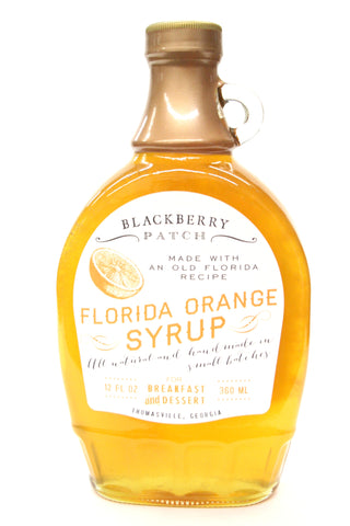 Blackberry Patch Florida Orange Syrup