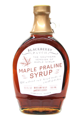 Blackberry Patch Maple Praline Syrup